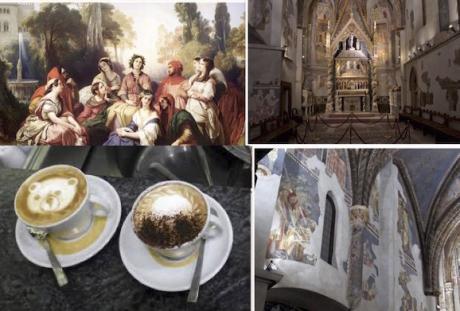 DOMENICA 3 MARZO 2019 LA NAPOLI TRECENTESCA DI BOCCACCIO E PETRARCA