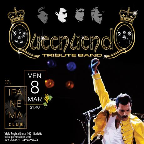 8 Marzo - Queenuendo tribute band a Barletta