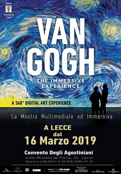 VAN GOGH LECCE THE IMMERSIVE EXPERIENCE - MOSTRA MULTIMEDIALE