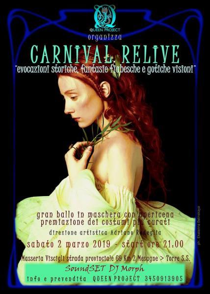 CARNIVAL RELIVE  Gran Ballo in Maschera