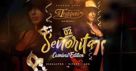Senõrita_Tour con CARNIVALS EDITION al Trappeto