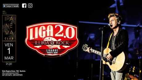 Liga2.0 - Illiria ROCK - Ligabue Tribute Band a Barletta