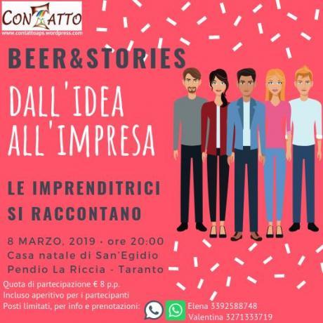 Beer&Stories - Dall'idea all'impresa