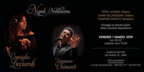 Napoli Nobilissima con Consiglia Licciardi e Tommaso Chimenti