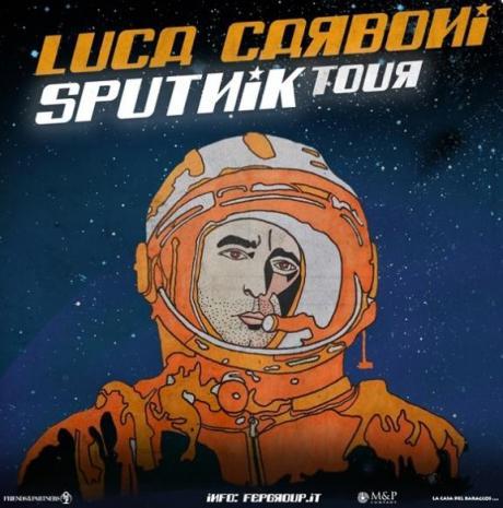 "Luca Carboni in ""Sputnik Tour"""