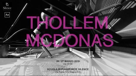 Thollem McDonas // performance per pianoforte solo