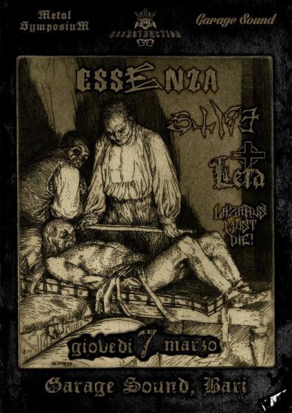 Essenza e Stige in concerto per la rassegna Metal Symposium/Beerstruction