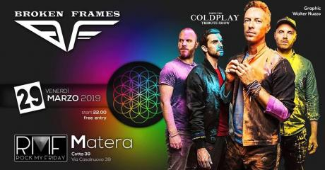 42 Coldplay Tribute Show by Broken Frames a Matera