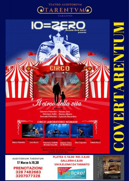 """Covertarentum Zero Tribute """"Il Circo della vita"""""""