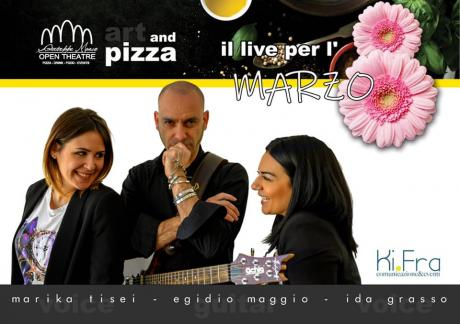 Due voci e una chitarra: imperdibile live per l'8 marzo al Teatro Art Club Restaurant and Pizza