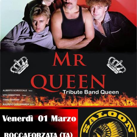 Mr Queen live at Saloon Public House