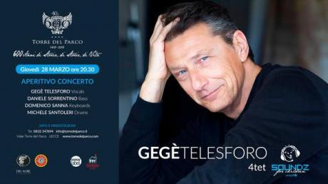 Gegè Telesforo Quartet in concerto a Lecce