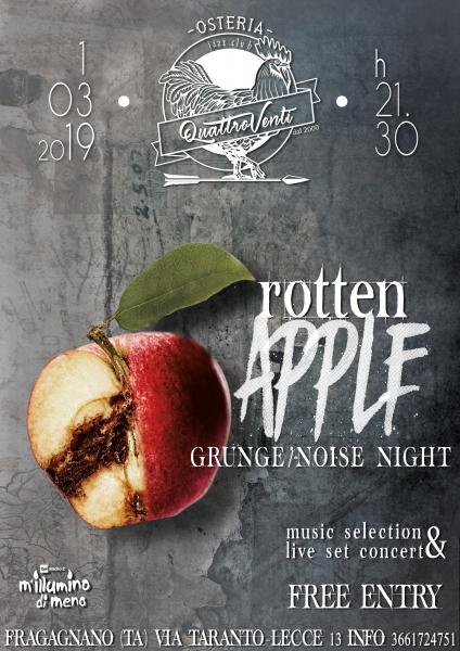 RoTtEn ApPLe   per M'illumino di meno