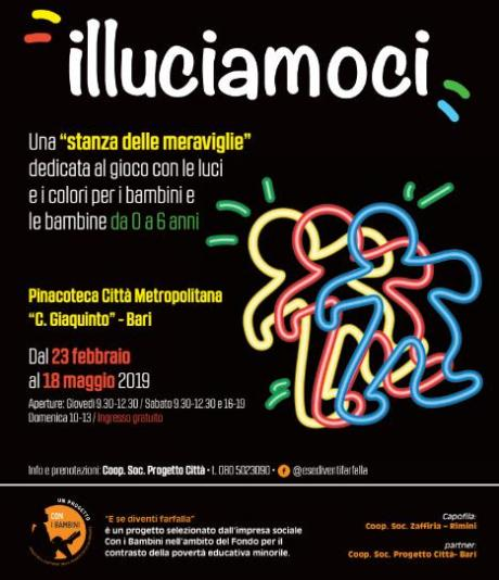 """Alla Pinacoteca metropolitana la mostra """"Illuciamoci"""""""