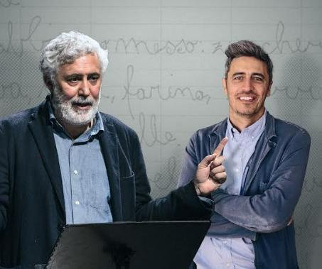 """Francesco Piccolo e Pif in """"Momenti di trascurabile (in)felicità"""""""