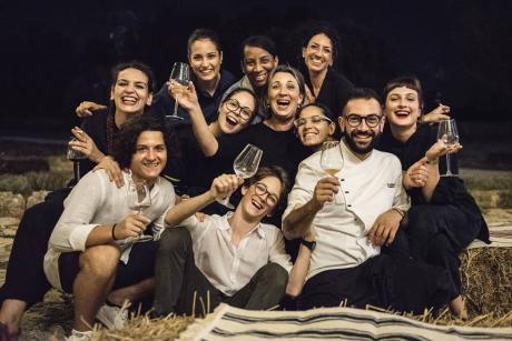 """7 e 21 marzo, """"Tre bicchieri  in Masseria"""",  ad Oria. Masseria Palombara, 2 serate e 4 produttori """"Tre Bicchieri Gambero Rosso"""" incontrano la cucina di chef Sammarco"""