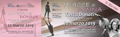TRACCE DI DONNA CON TOSCA ad Alberobello