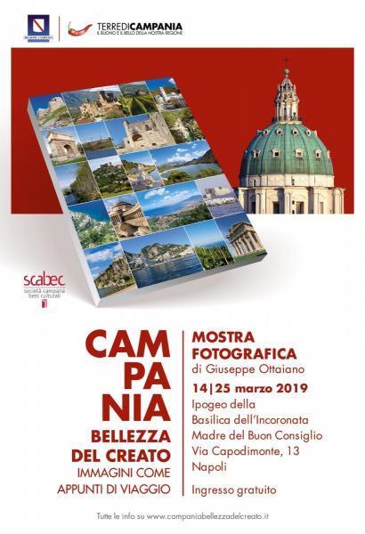 """""""Campania bellezza del Creato"""",  il libro diventa una mostra fotografica"""