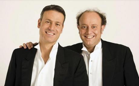 Ale e Franz a Nardò con Claudio Batta