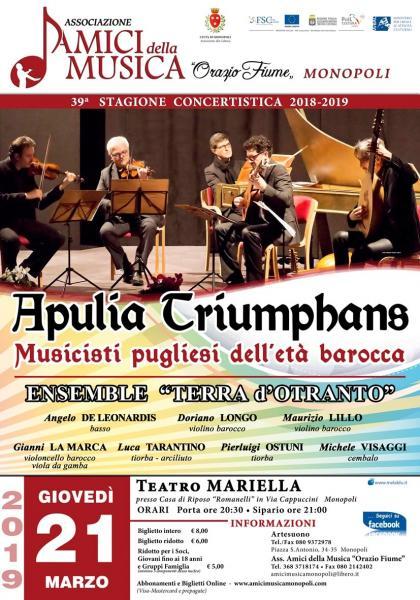Apulia Triumphans - Concerto Barocco