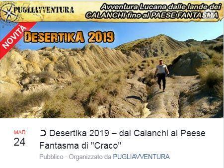 Desertika 2019: dai Calanchi al paese fantasma di Craco