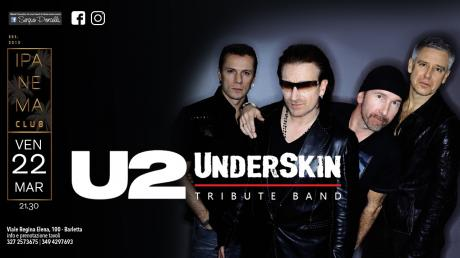 U2 Underskin tribute band a Barletta