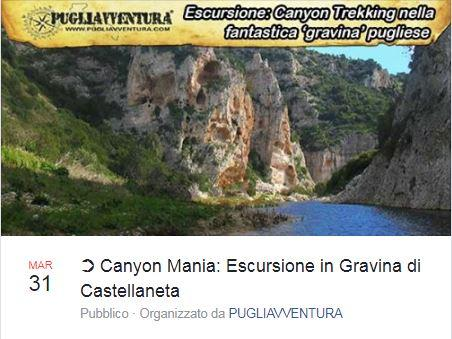 Canion Mania: trekking in Gravina di Castellaneta