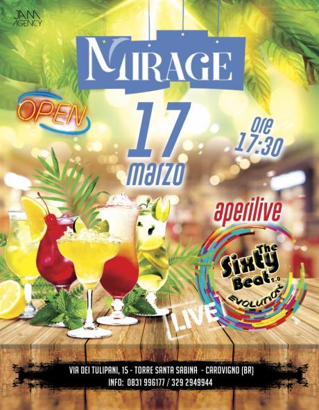 AperiLIVE con The Sixty Beat Live at Mirage (Torre Santa Sabina)