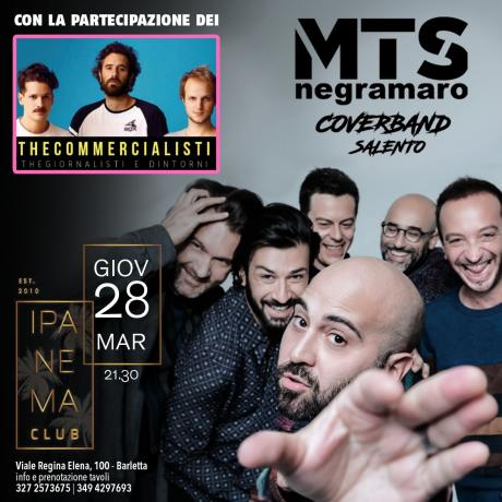 MTS Negramaro cover band salento & Thegiornalist cover band a Barletta
