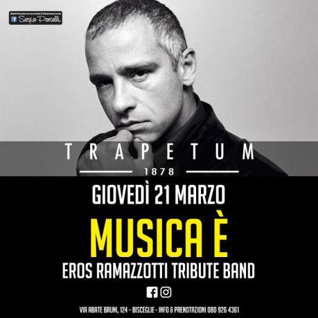 Musica è - Eros Ramazzotti tribute a Bisceglie