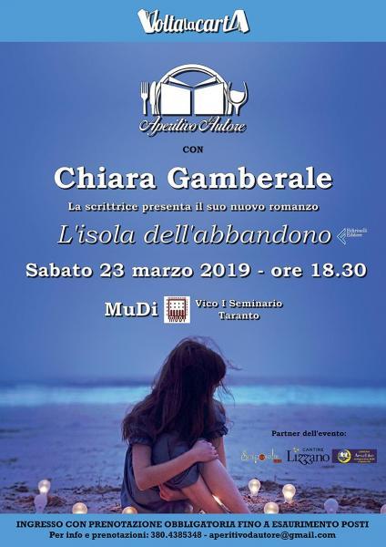 Aperitivo d'Autore con Chiara Gamberale