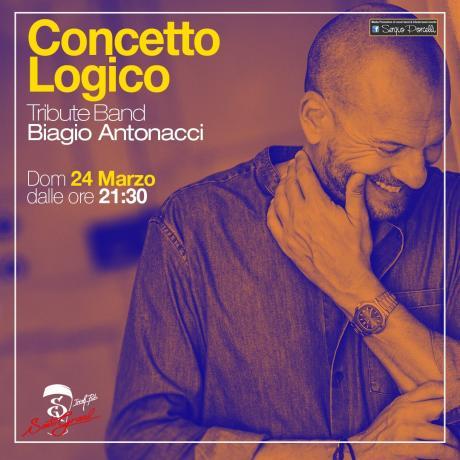 Concetto Logico tributo a Biagio Antonacci - Trani