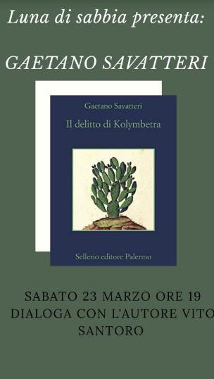 """Presentazione del libro """"Il delitto di Kolymbetra"""""""