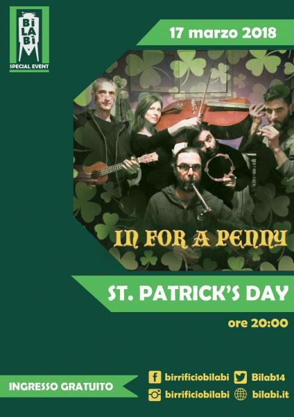 Bilabì St. Patrick's Party - Inn For A Penny