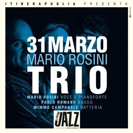 """Mario Rosini Trio """"Una canzone intorno al mondo"""""""