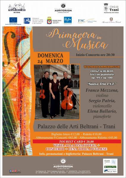 Stagione Concertistica - Primavera in musica '19 - Nuovo Trio I.S.I.