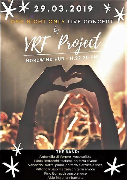 VRF Project in concerto al Nordwind di Bari