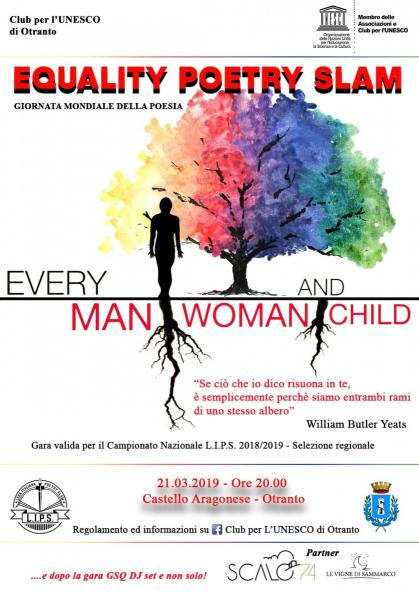 Equality Poetry Slam