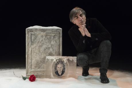 Il premio UBU Saverio La Ruina con Masculu e Fiammina, Rassegna teatrale Kairòs, domenica 24 marzo