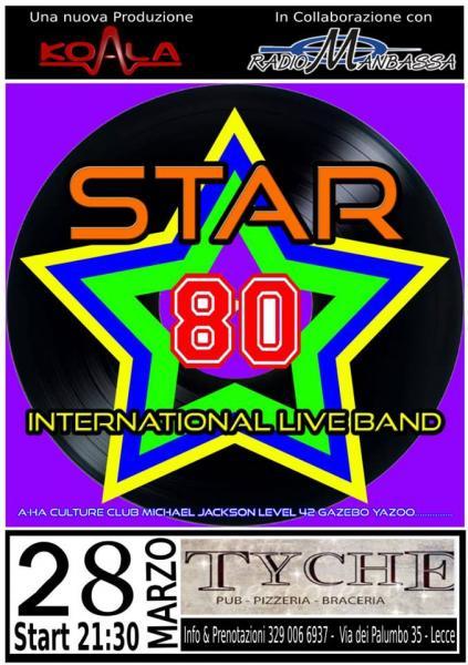 Battesimo del Fuoco per Gli Star 80 - International live Band