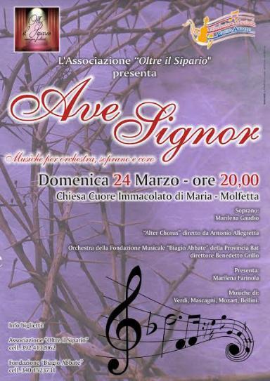 """Concerto """"Ave Signor"""""""
