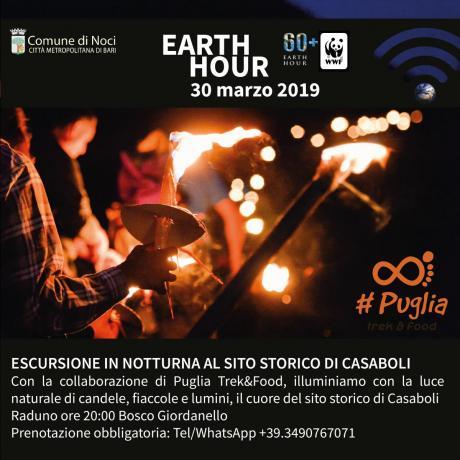 Earth Hour 2019. ESCURSIONE IN NOTTURNA AL SITO STORICO DI CASABOLI