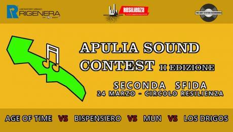 Apulia Sound Contest II - Seconda sfida