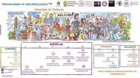 Primavera  a Canosa di Puglia tra: riti pasquali, natura e archeologia
