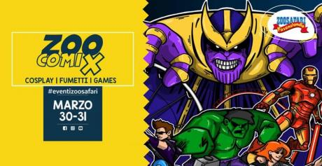 ZooCoomix 2019 - Cosplay, Fumetti, Games