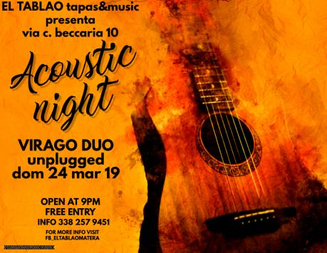 Virago Duo Live music
