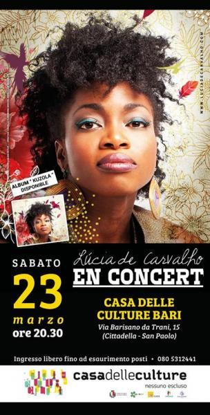 LUCIA DE CORVALHO in concerto a Bari