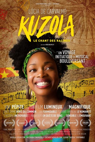 Lucia Carvalho a Bari - presentazione del film Kuzola