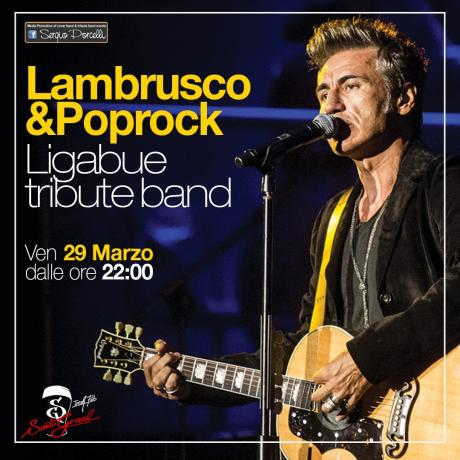 Lambrusco & Poprock Ligabue Tribute band a Trani