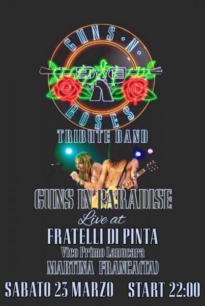 Guns In Paradise Live!